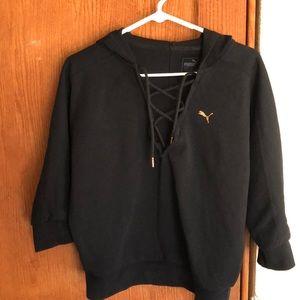Puma Crop Sweater Size Small